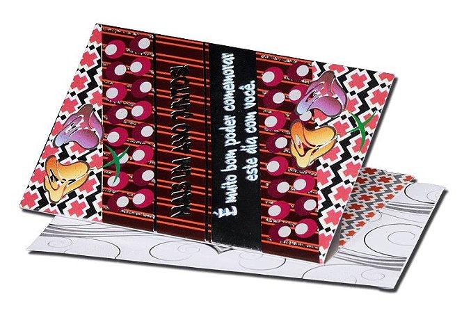 Cartão Casamento e Bodas 7,5 x 11  - 11