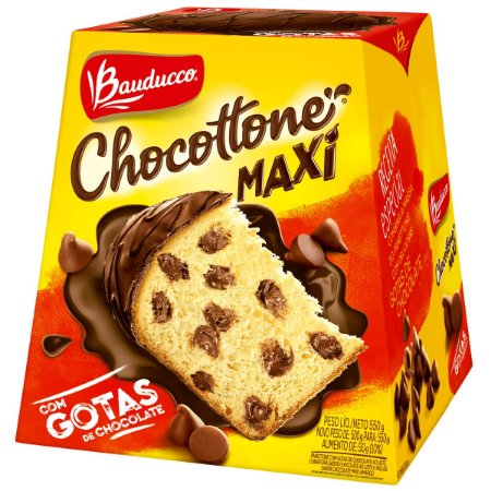 CHOCOTTONE MAXI 550gr GOTAS DE CHOCOLATE