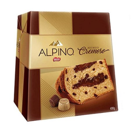 CHOCOTTONE NESTLE ALPINO 400gr RECHEIO CREMOSO
