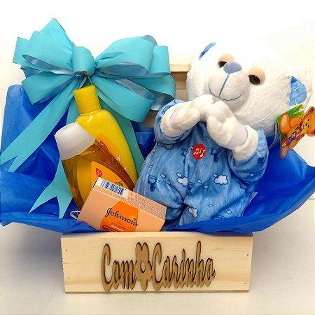Cesta Maternidade - Ursinho Oração