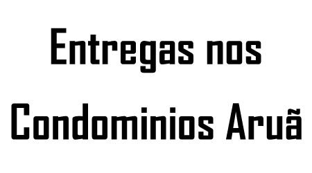 Condominios Aruã