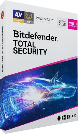 Bitdefender Total Security 2020 (até 5 dispositivos)