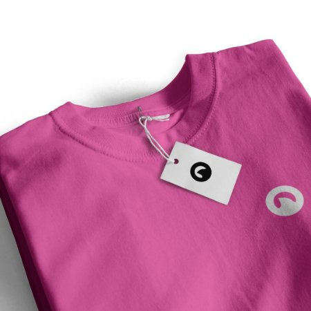 Camiseta Básica - Rosa