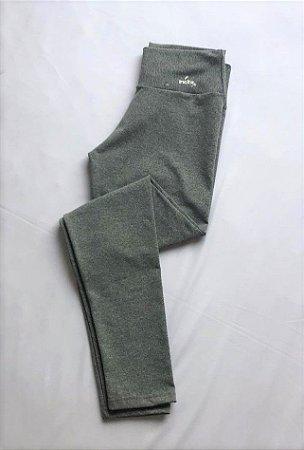 Calça Legging Suplex Poliamida Light - Cinza