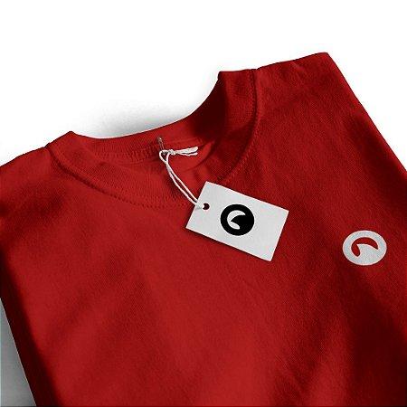 Camiseta Básica - Vermelha