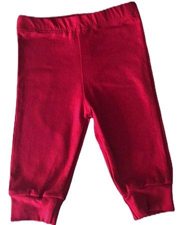 Calça Lisa - Vermelho