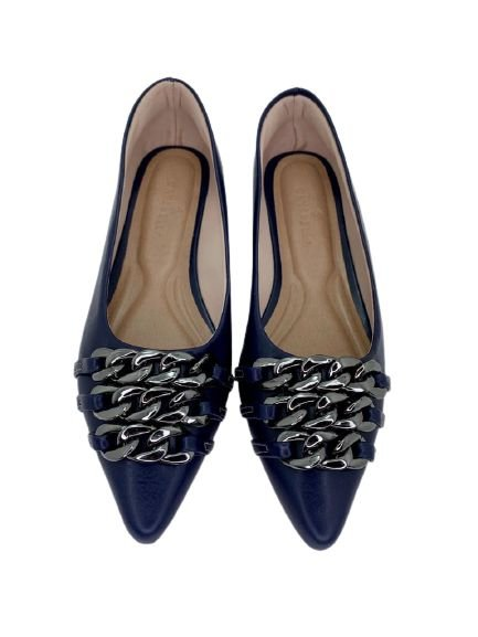 POINTED CORRENTES - NAVY BLUE