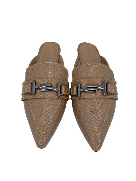 MULE GUCCI INSPIRED - NUDE DRAFT