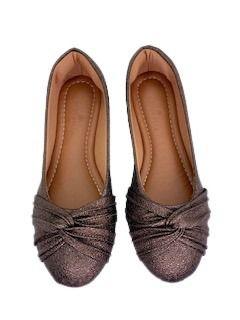 Sapatilhas Pointed Ballerina Laço Invertido