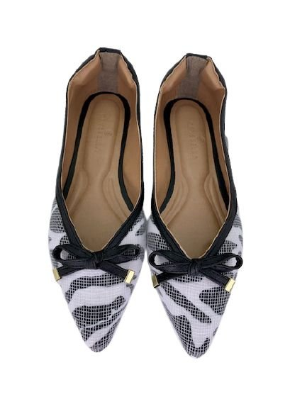 Sapatilhas Pointed Vintage Animale