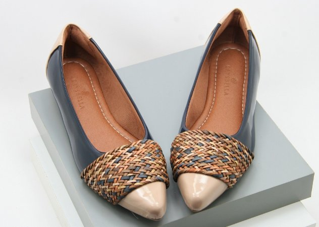 Pointed Chord - Navy