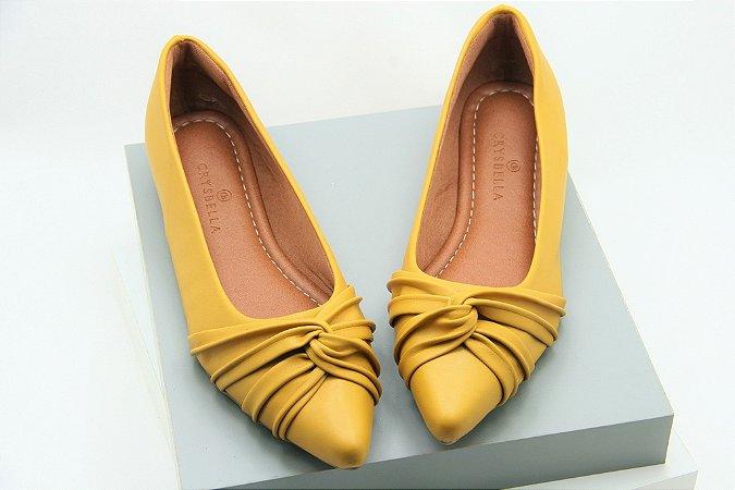 Pointed Laço Invertido - Amarelo