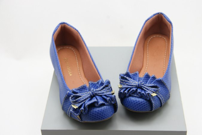 Ballerina Babados - Blue Escama