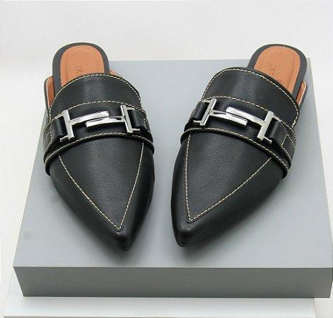 Mule Gucci Inspired - Black Comfort