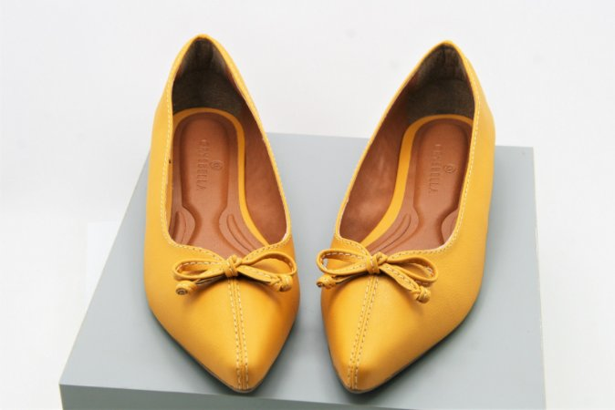 POINTED COMING SOON - AMARELO