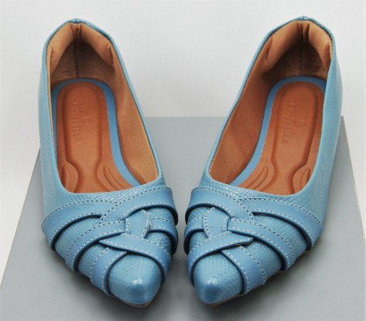 POINTED CURVY - PURIST BLUE