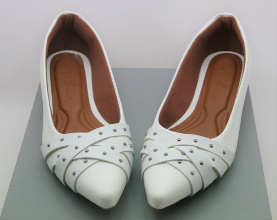 POINTED DOTS - WHITE