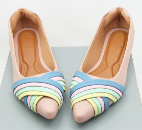 POINTED WAVE - PASTEL COLORS