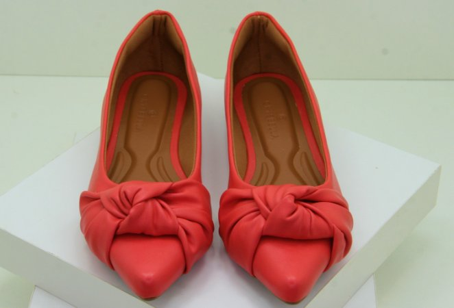 POINTED TIE - CORAL