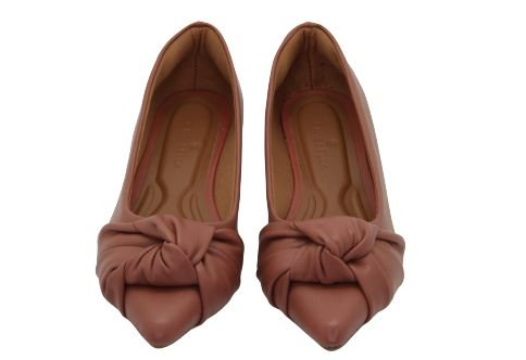 POINTED TIE - GUAVA