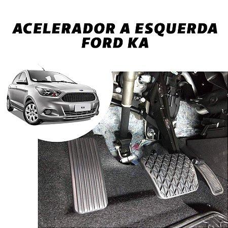 Inversão de pedal- Ford Ka