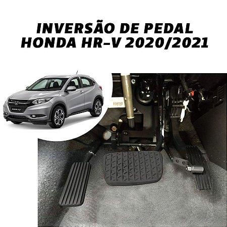 Inversão de pedal - Honda HR-V