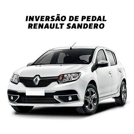Inversão de Pedal - Renault Sandero