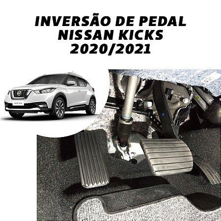 Inversão de pedal - Nissan Kicks