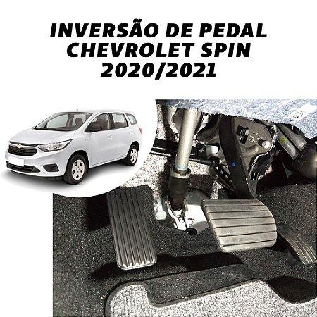 Inversão de pedal - Chevrolet Spin