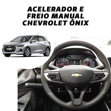 Acelerador e Freio Manual Chevrolet Onix