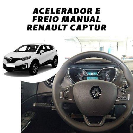 Acelerador e Freio Manual Renault Captur