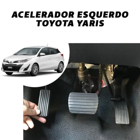 Inversão de Pedal - Toyota Yaris