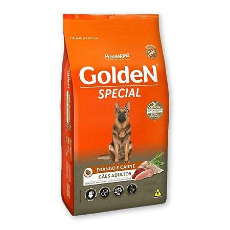 Ração Golden Special Sabor Frango e Carne para Cães Adultos 15kg