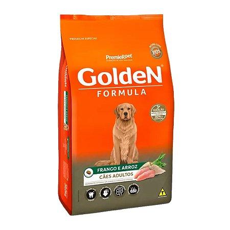Ração Golden Fórmula para Cães Adultos Sabor Frango e Arroz 15kg