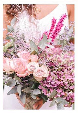 Assinatura de flores sem vaso