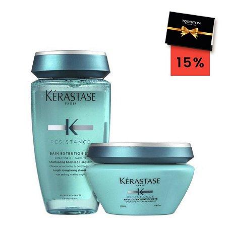 Kit Resistance Extentioniste - Shampoo 250ml + Máscara 200ml [voucher 15%]