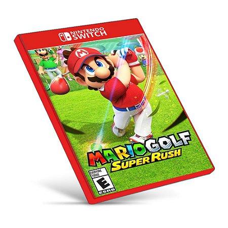 Mario Golf: Super Rush - Nintendo Switch - Mídia Digital