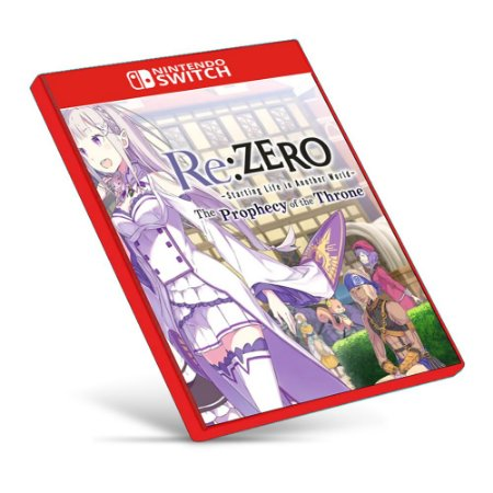 Re:ZERO -Starting Life in Another World- The Prophecy of the Throne - Nintendo Switch - Mídia Digital