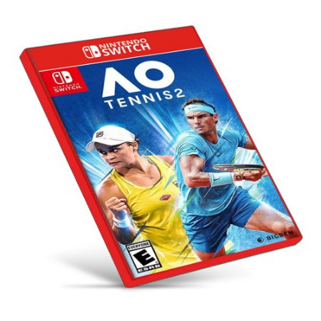 AO Tennis 2 - Nintendo Switch - Mídia Digital