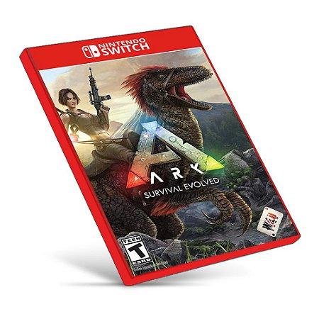 ARK: Survival Evolved - Nintendo Switch - Mídia Digital