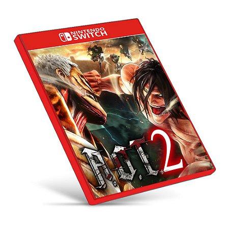 Attack on Titan 2 - Nintendo Switch - Mídia Digital