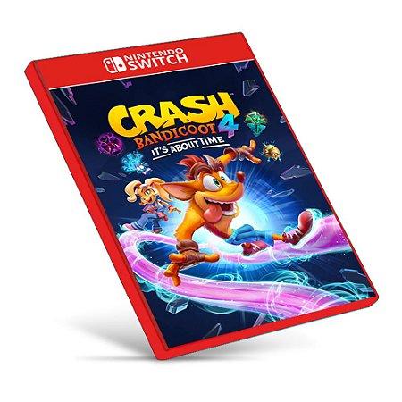 Crash Bandicoot 4: It's About Time - Nintendo Switch - Mídia Digital