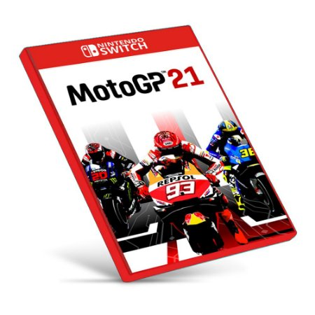 MotoGP 21 - Nintendo Switch - Mídia Digital