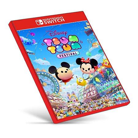 Disney TSUM TSUM FESTIVAL - Nintendo Switch - Mídia Digital