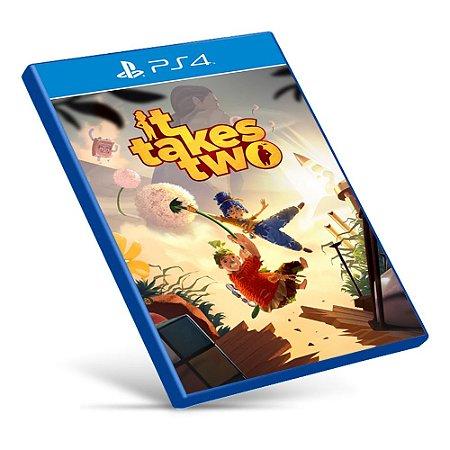 It Takes Two - PS4 - Mídia Digital