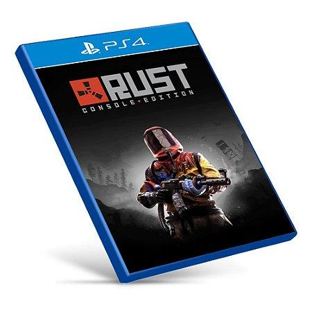 Rust Console Edition - PS4 - Mídia Digital