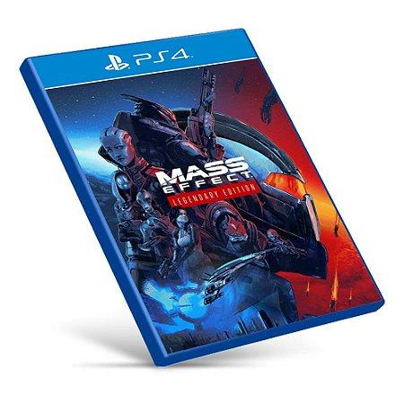 Mass Effect Legendary Edition - PS4 - Mídia Digital