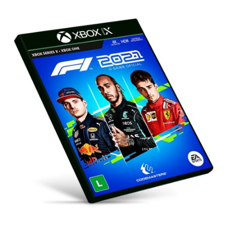 F1 2021 - Xbox Series X|S - Mídia Digital