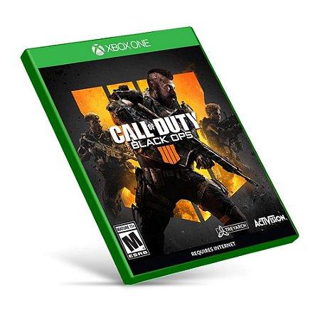 Call Of Duty: Black Ops 4 - Xbox One - Mídia Digital