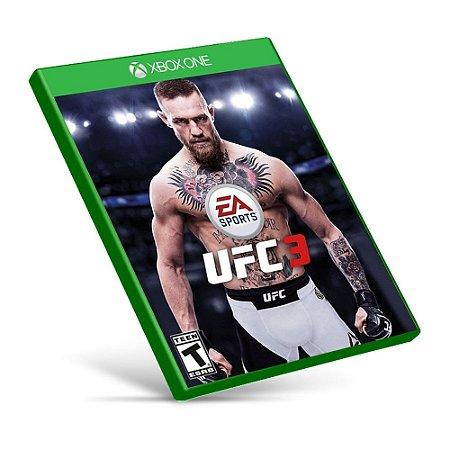 EA Sports UFC 3 - Xbox One - Mídia Digital